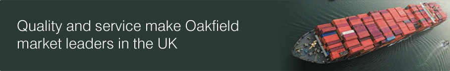 Quality and service make Oakfield market leaders in the UK